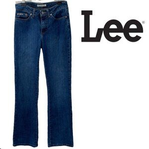 Lee natural bootcut jeans size 4 medium